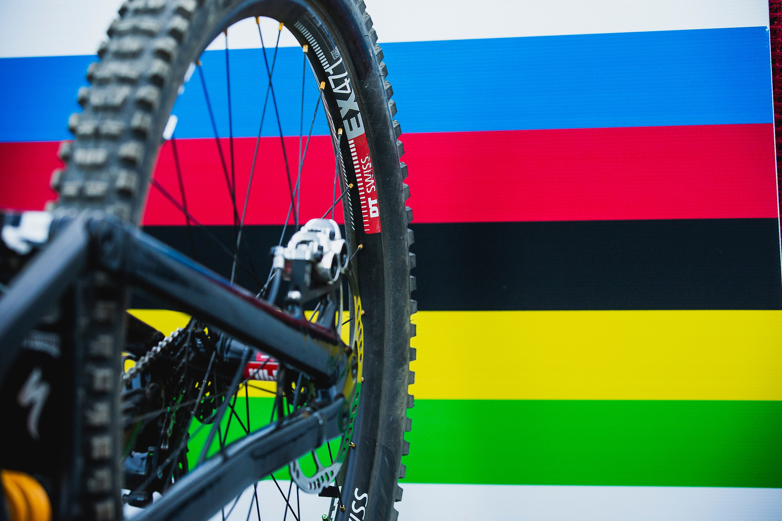 World Championships Winning Bike: Loic Bruni's Specialized Demo 29 - Winning Bike: Loic Bruni's Specialized Demo 29 - Mountain Biking Pictures - Vital MTB