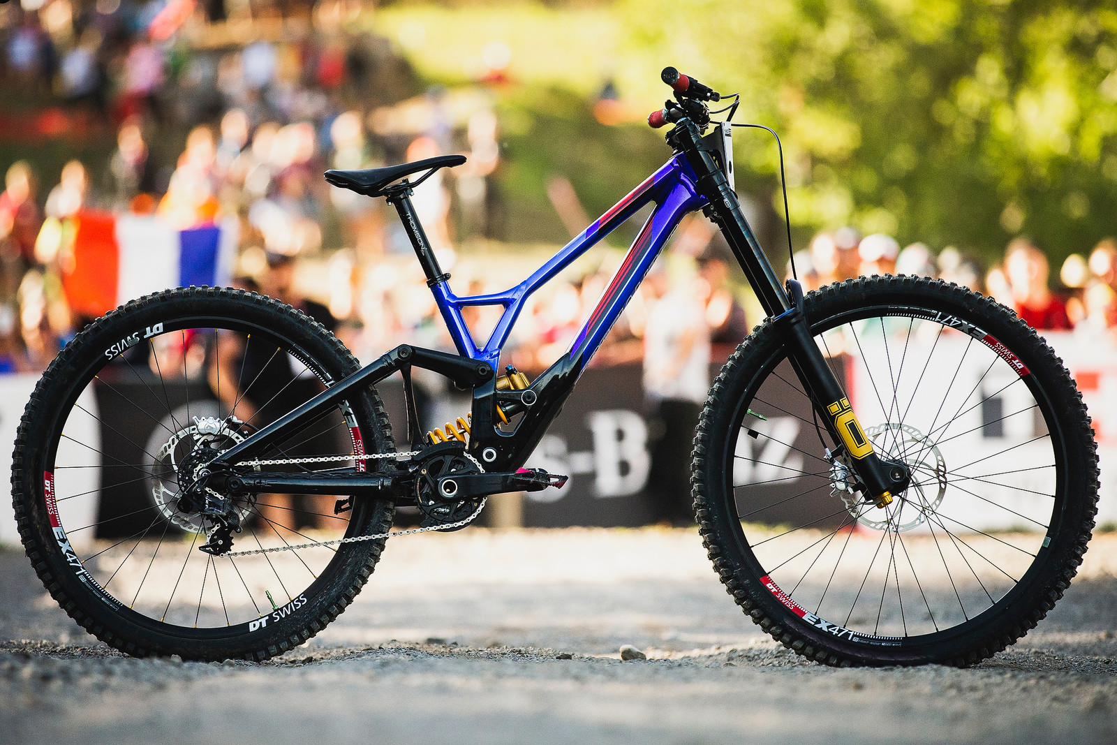 World Championships Winning Bike: Loic Bruni's Specialized Demo 29 - Winning Bike: Loic Bruni's Specialized Demo 29 - Mountain Biking Pictures - Vital MTB