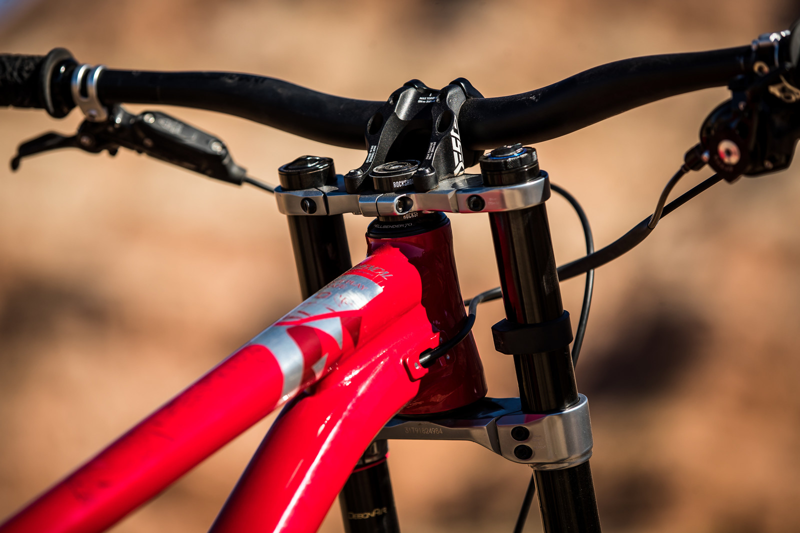 Cockpit Views | Kyle Strait's 2019 Rampage Bike - RAMPAGE BIKE - Kyle Strait's Commencal Furious - Mountain Biking Pictures - Vital MTB