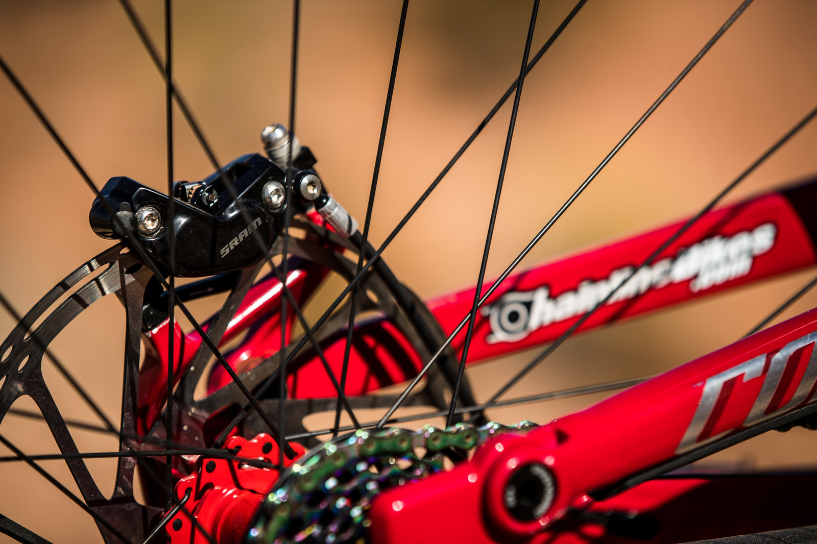 SRAM Code on Kyle Strait's 2019 Commencal Furious Rampage Bike - RAMPAGE BIKE - Kyle Strait's Commencal Furious - Mountain Biking Pictures - Vital MTB