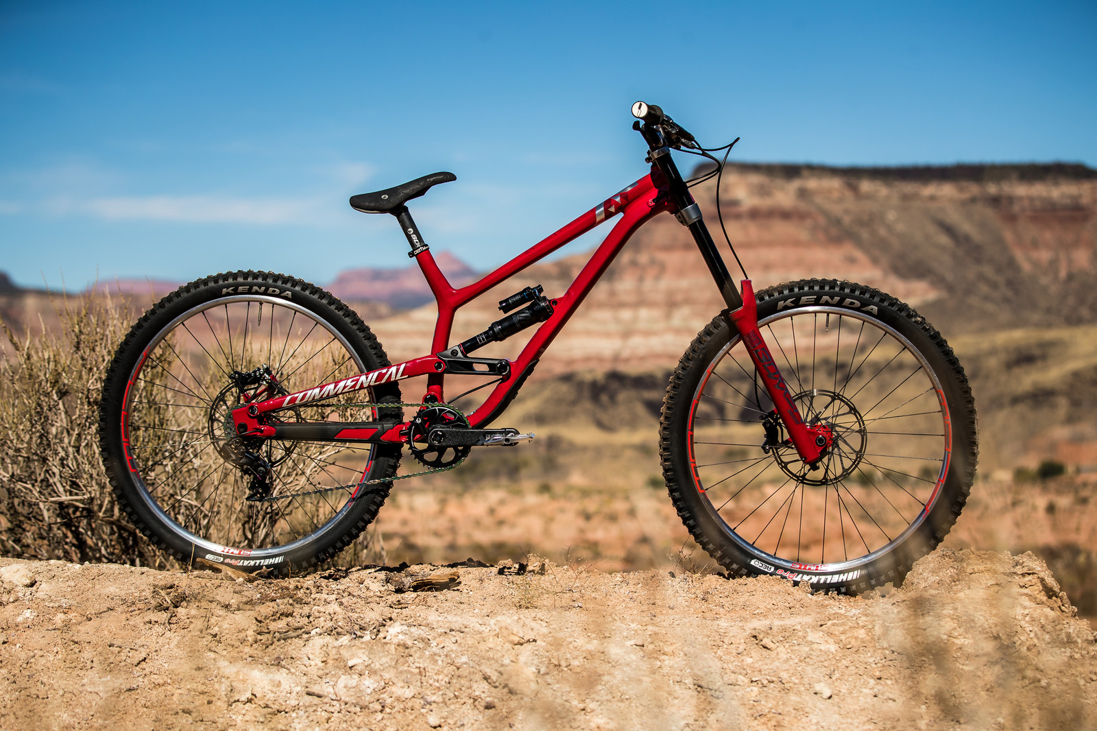 RAMPAGE BIKE - Kyle Strait's Commencal Furious - RAMPAGE BIKE - Kyle Strait's Commencal Furious - Mountain Biking Pictures - Vital MTB