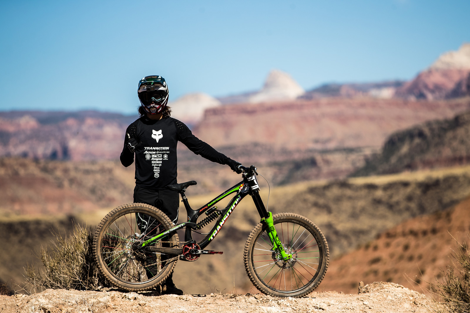 Johny and His Sick Steed - RAMPAGE BIKE - Juan Diego Salido's Transition TR11 - Mountain Biking Pictures - Vital MTB