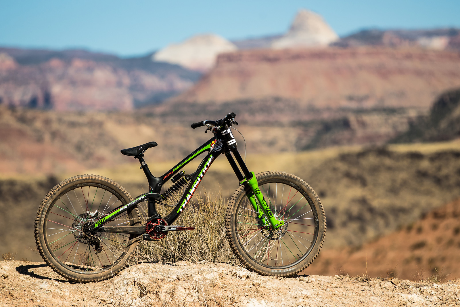 RAMPAGE BIKE - Juan Diego Salido's Transition TR11 - RAMPAGE BIKE - Juan Diego Salido's Transition TR11 - Mountain Biking Pictures - Vital MTB