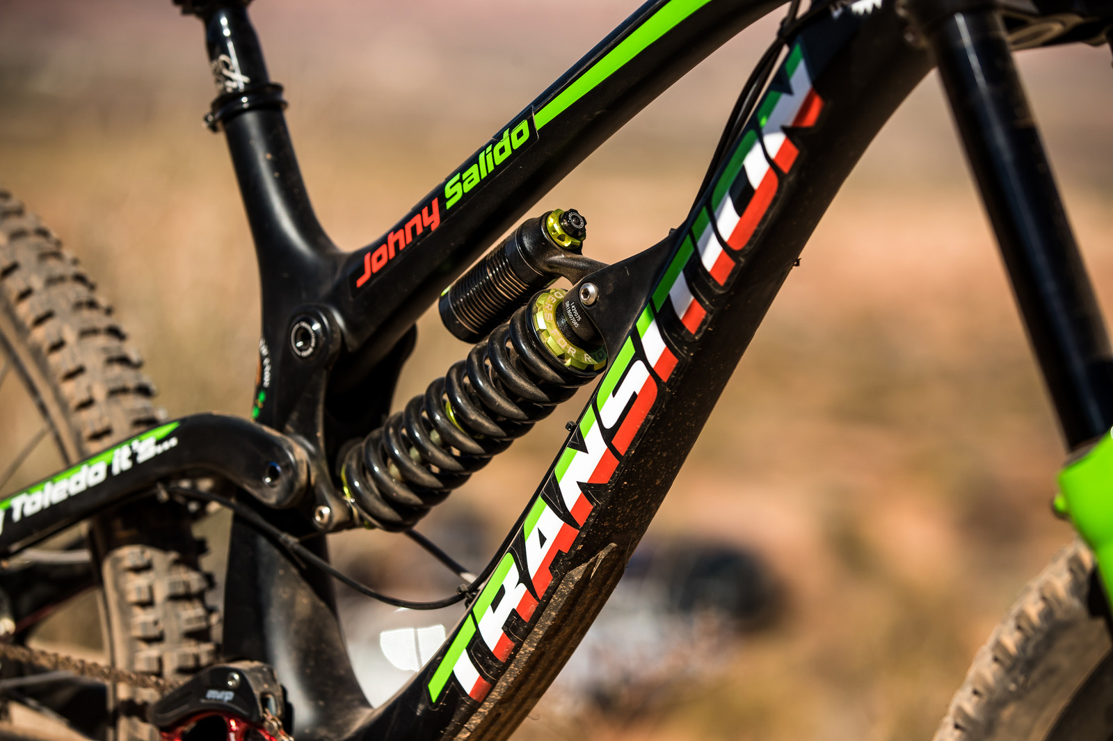 Viva Mexico! Juan Diego Salido's Transition TR11 at Rampage 2019 - RAMPAGE BIKE - Juan Diego Salido's Transition TR11 - Mountain Biking Pictures - Vital MTB