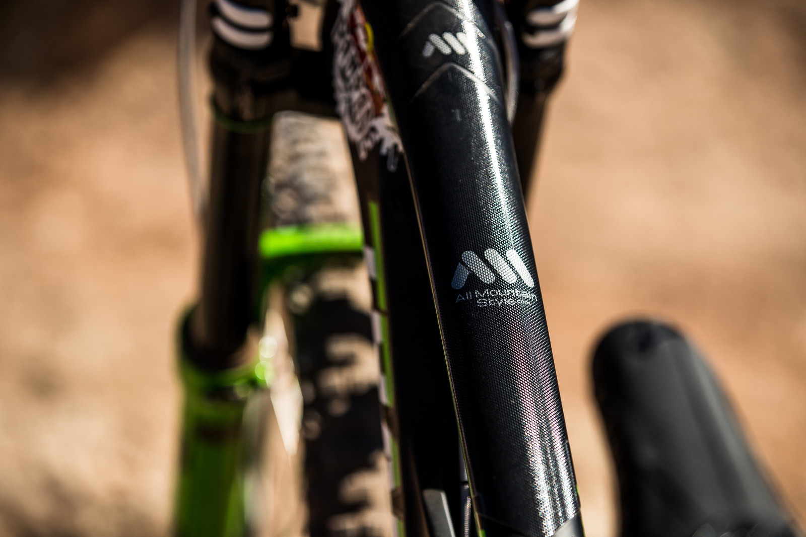 Stay Protected | All Mountain Style frame protection on Juan Diego Salido's Transition TR11 at Rampage 2019 - RAMPAGE BIKE - Juan Diego Salido's Transition TR11 - Mountain Biking Pictures - Vital MTB