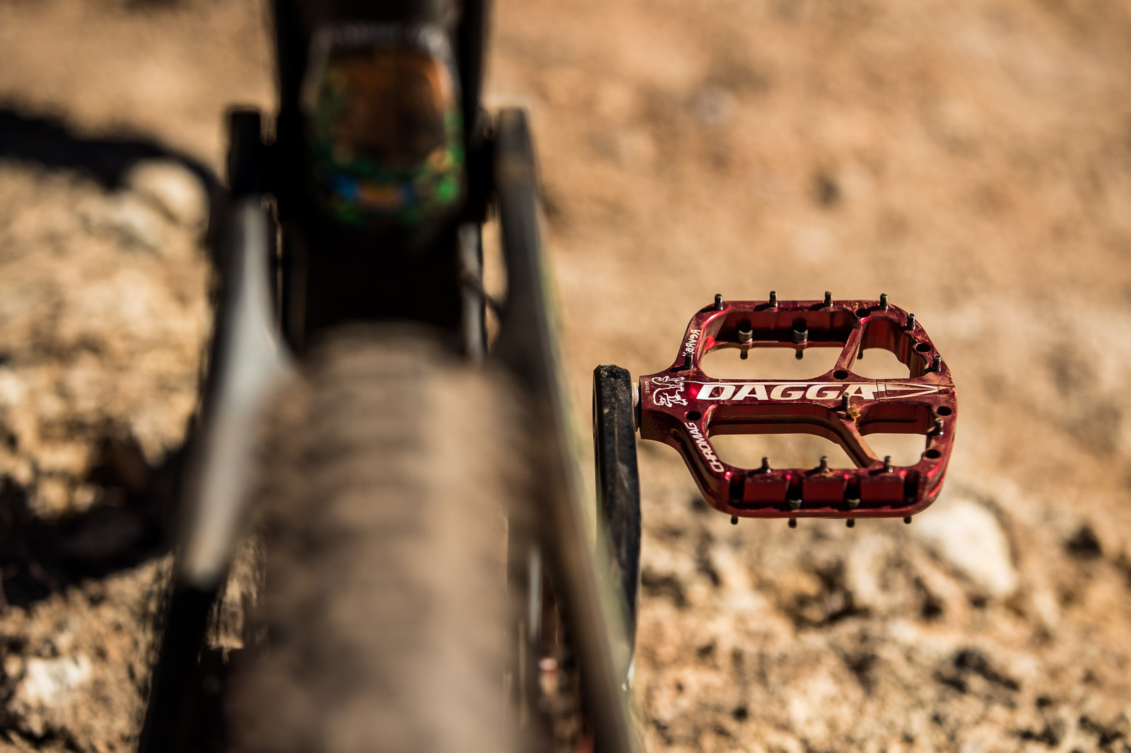 Shin Slicers on Juan Diego Salido's Transition TR11 at Rampage 2019 - RAMPAGE BIKE - Juan Diego Salido's Transition TR11 - Mountain Biking Pictures - Vital MTB
