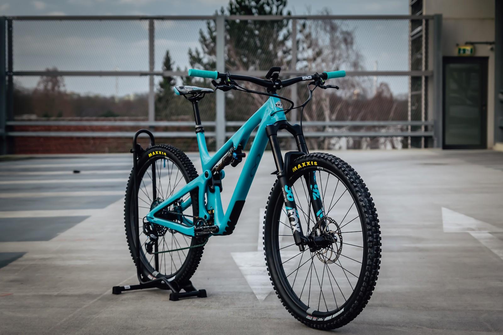 Yeti SB130 Turq Lunchride - Vital Bike of the Day April 2020 - Mountain Biking Pictures - Vital MTB