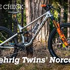 Custom Norco Sight X Gehrig Twins EWS Race Bike 2020