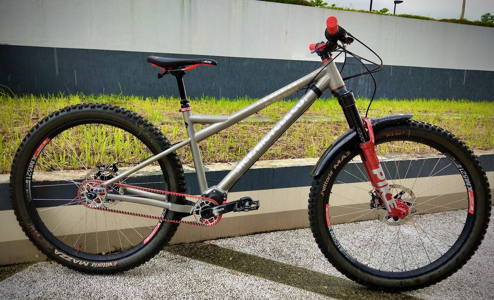 Sick Wulfbaron Ti - Vital Bike of the Day December 2020 - Mountain Biking Pictures - Vital MTB