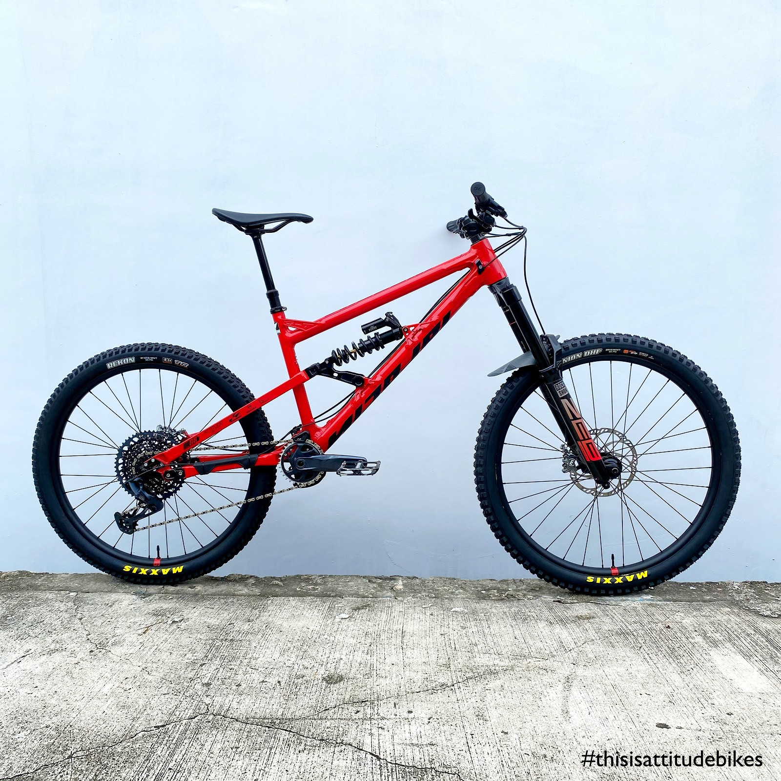Nicolai G1 - Vital Bike of the Day January 2021 - Mountain Biking Pictures - Vital MTB