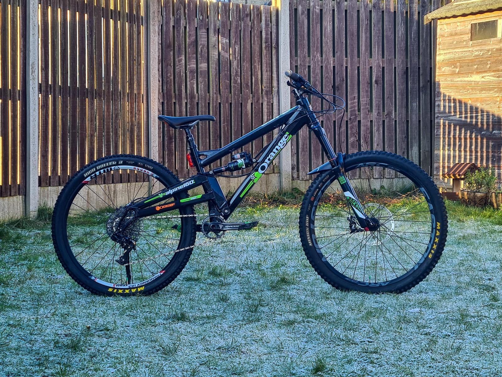 Orange Alpine 160 - Vital Bike of the Day January 2021 - Mountain Biking Pictures - Vital MTB