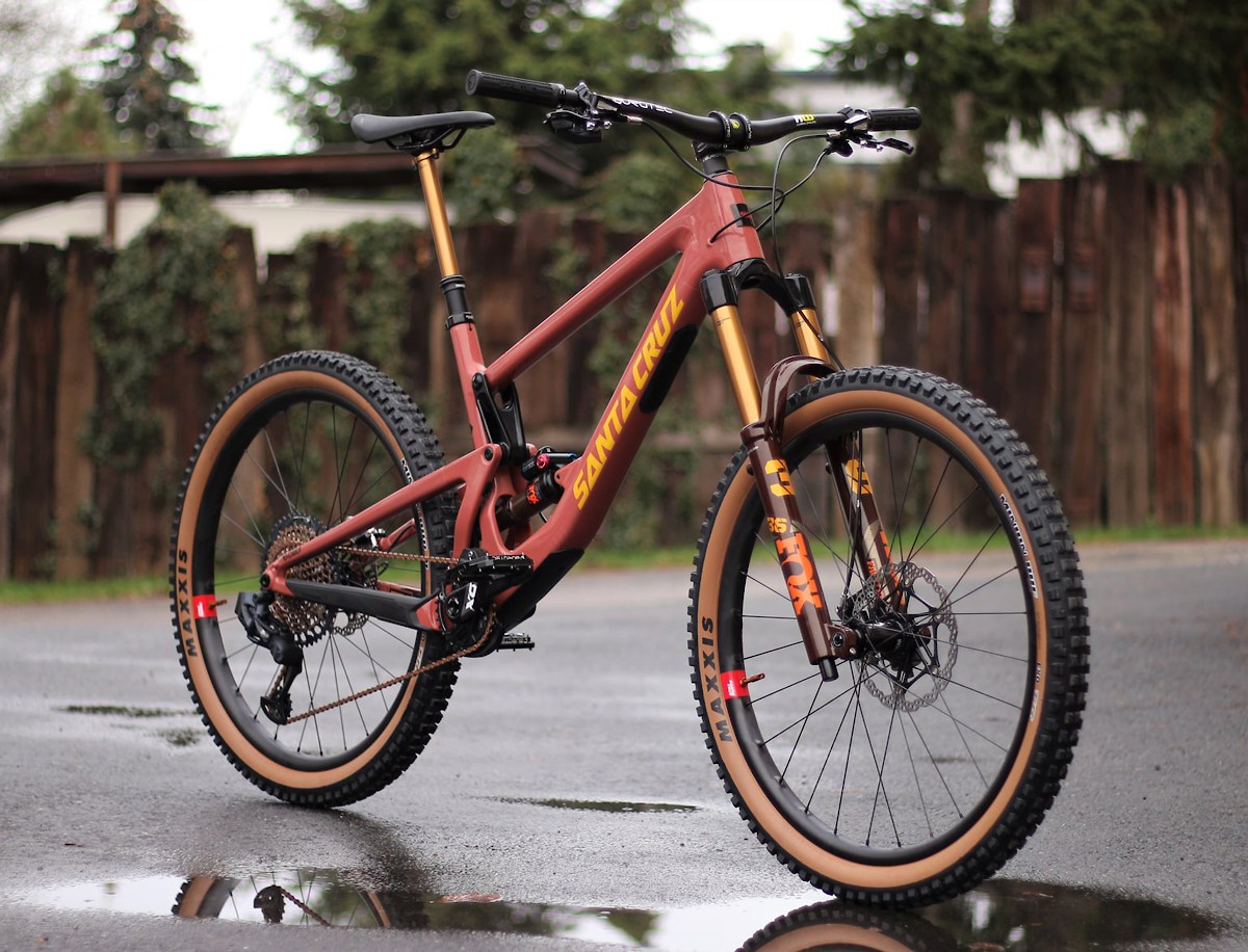 Santa Cruz Bronson CC - Vital Bike of the Day January 2021 - Mountain Biking Pictures - Vital MTB