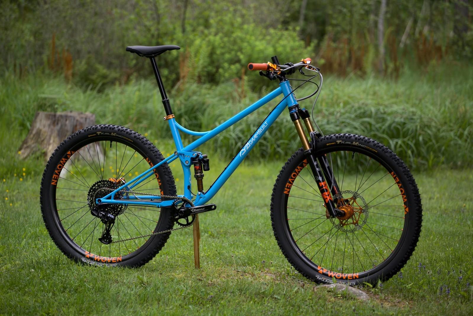 Daambuilt Full Suspension - Vital Bike of the Day June 2021 - Mountain Biking Pictures - Vital MTB