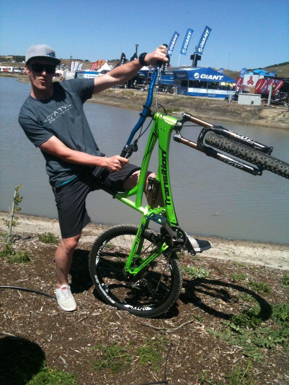 ANVL wheelie - iceman2058 - Mountain Biking Pictures - Vital MTB