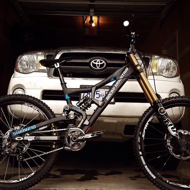 Red Bull Rampage Pro Bikes: Thomas Vanderham's Rocky Mountain Flatline - iceman2058 - Mountain Biking Pictures - Vital MTB