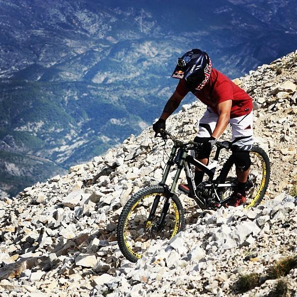 Red Bull Rampage Pro Bikes: Yannick Granieri's Polygon - iceman2058 - Mountain Biking Pictures - Vital MTB