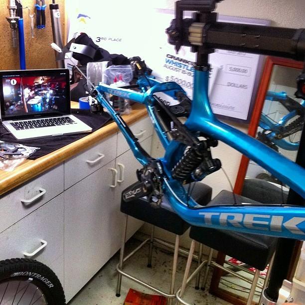 Red Bull Rampage Pro Bikes: Cam McCaul's Blue Trek Session - iceman2058 - Mountain Biking Pictures - Vital MTB