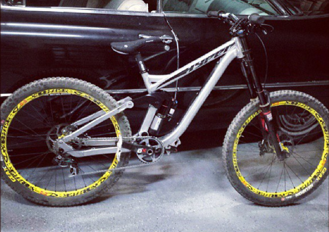 Red Bull Rampage Pro Bikes: Cam Zink's Prototype Hyper DH - iceman2058 - Mountain Biking Pictures - Vital MTB