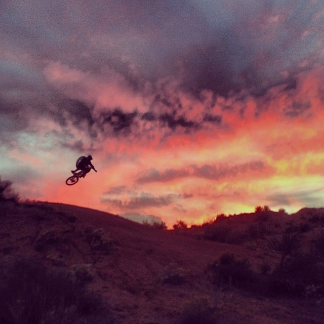 Red Bull Rampage 2013: Mitch Chubey Sending It at the Old Rampage Site - iceman2058 - Mountain Biking Pictures - Vital MTB