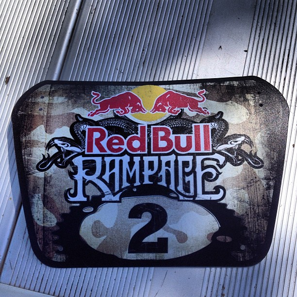 Red Bull Rampage 2013 James Doerfling S Number Plate