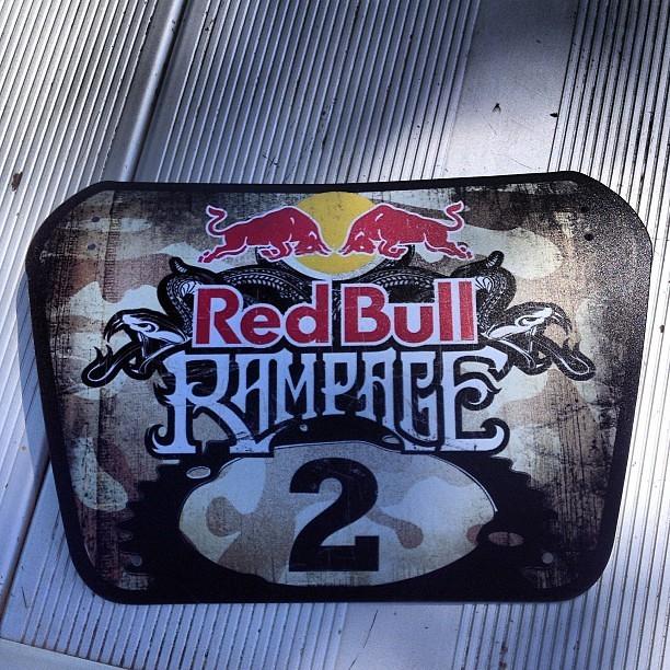 Red Bull Rampage 2013: James Doerfling's Number Plate - iceman2058 - Mountain Biking Pictures - Vital MTB