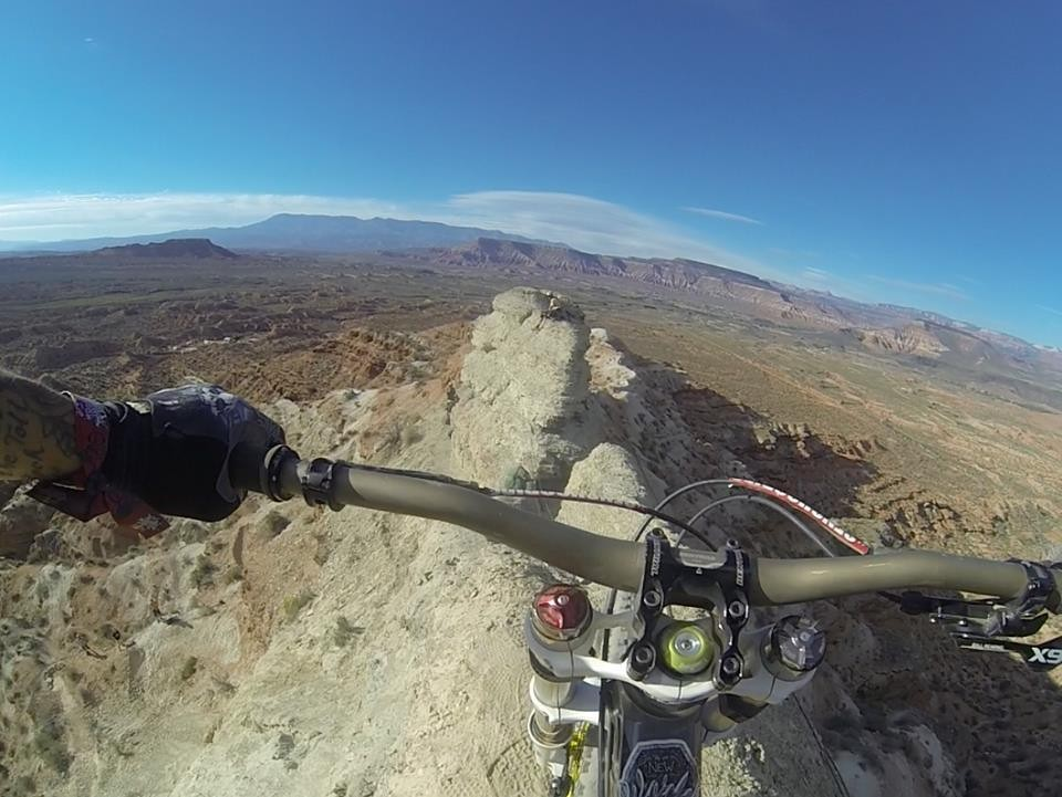 Red Bull Rampage 2013: Andreu Lacondeguy Dropping In - iceman2058 - Mountain Biking Pictures - Vital MTB