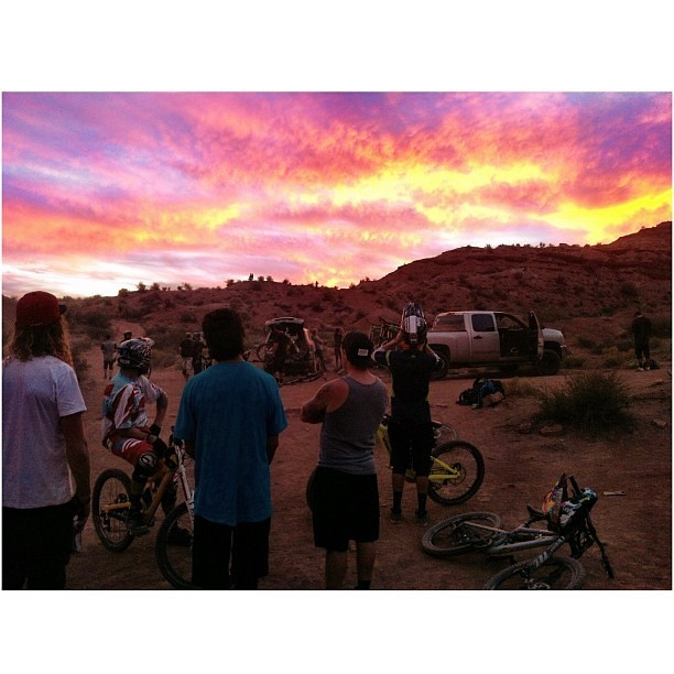 Red Bull Rampage 2013: Sunset Shredding at the Old Rampage Site - iceman2058 - Mountain Biking Pictures - Vital MTB