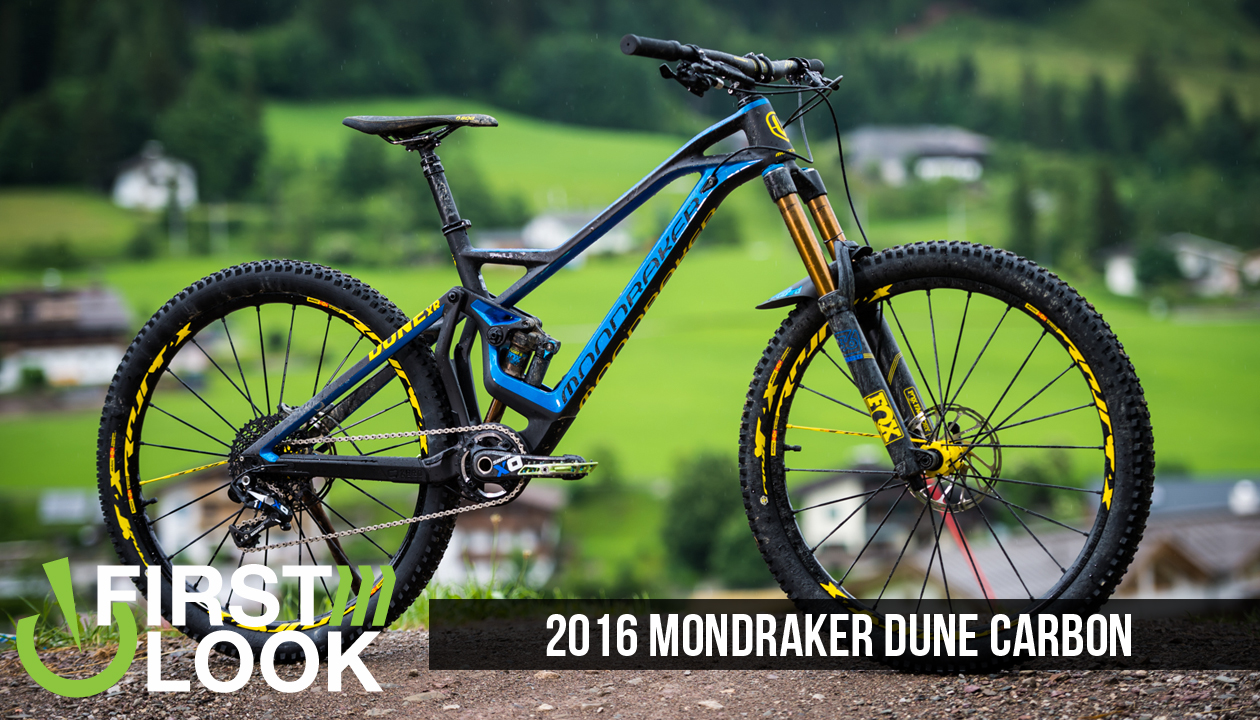 First Look 2016 Mondraker Dune Carbon Mountain Biking