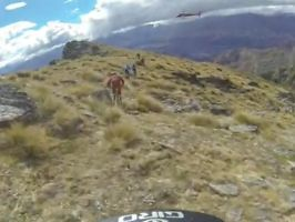 Remy Absalon Helmet Cam Run From the Queenstown Mega Avalanche 2013