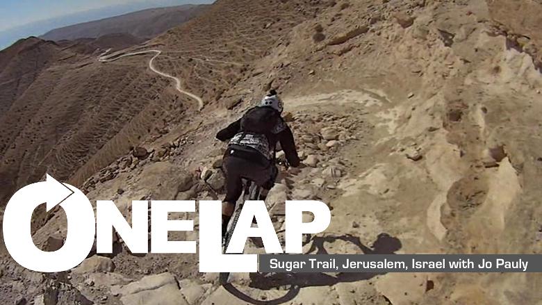 ONE LAP: Sugar Trail, Jerusalem, Israel with Jo Pauly