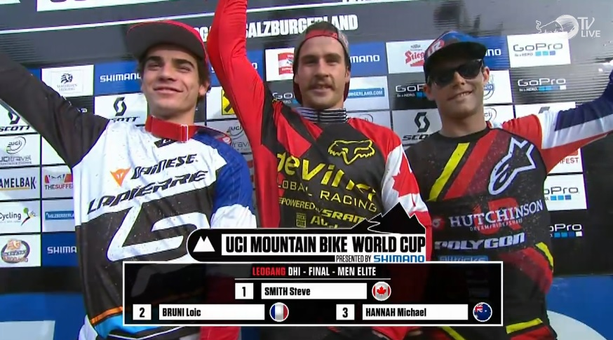 UCI DH World Cup Leogang 2013 REPLAY