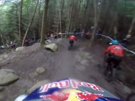 Gee Atherton - Red Bull Foxhunt 2013