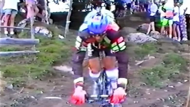 Mega Wad MTB Crash Action From 1993