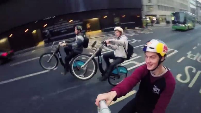 Boris Bike Bombing