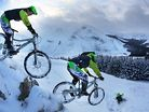 Mountain Bikers Vs. Snowdrifts In The Scottish Highlands   Trippin' Winter, Ep. 1