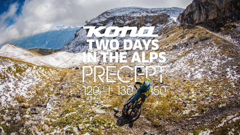 Two Days in the Alps with the Kona Precept