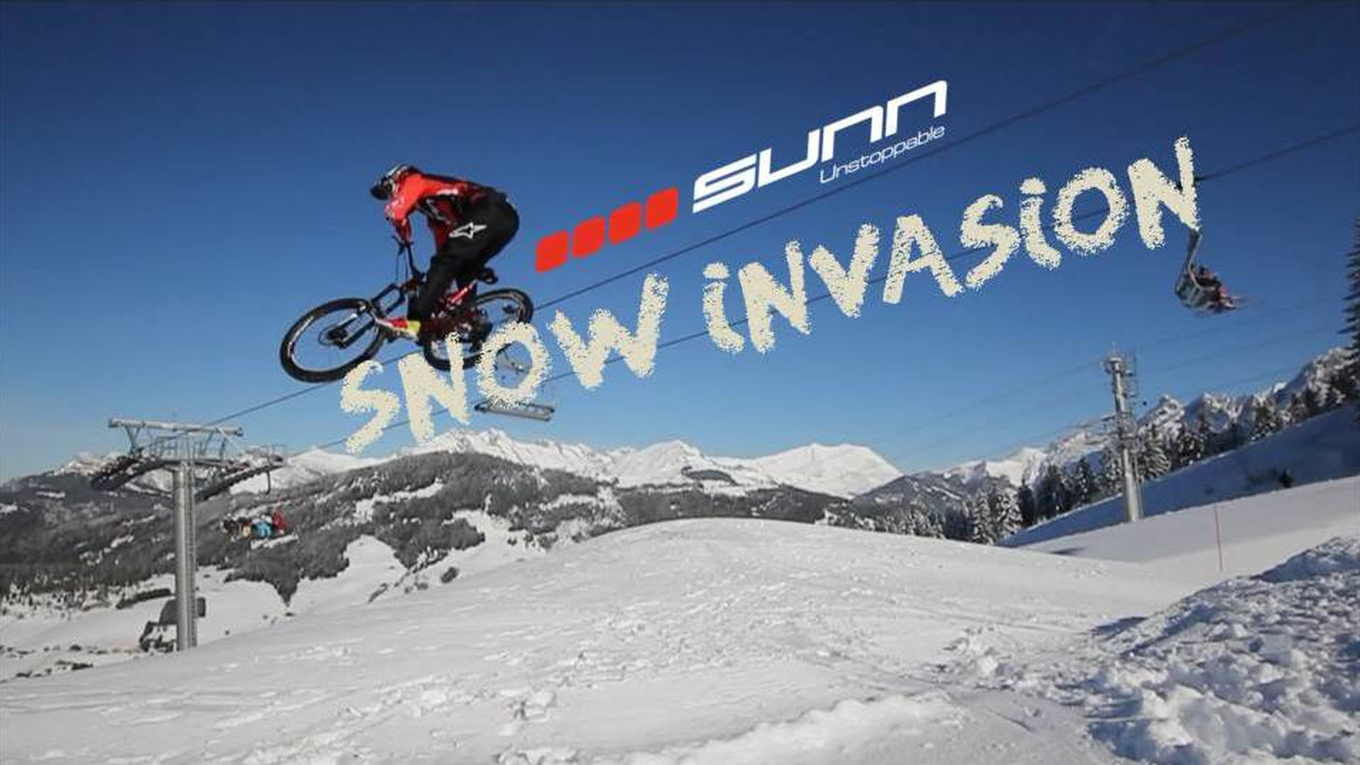 Kilian Bron Shreds Harder Than You | Snow Invasion
