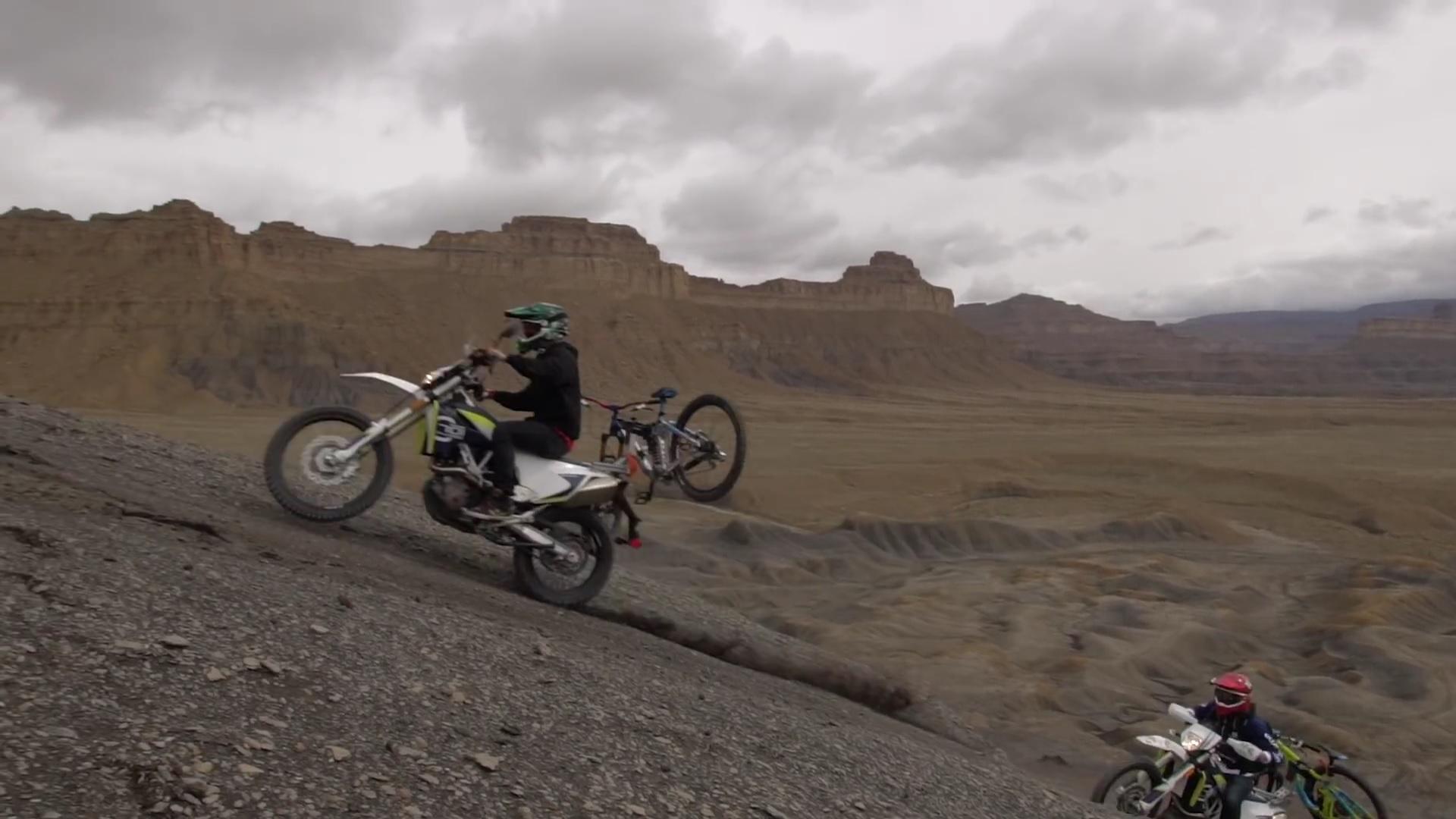 Moto + MTB = The Best Way To Mountain Bike In Utah