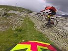 Iago Garay Chases Mark Scott Down Stage 4 Rotorua EWS