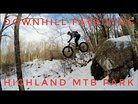 Downhill Fatbiking at Highland MTB Park