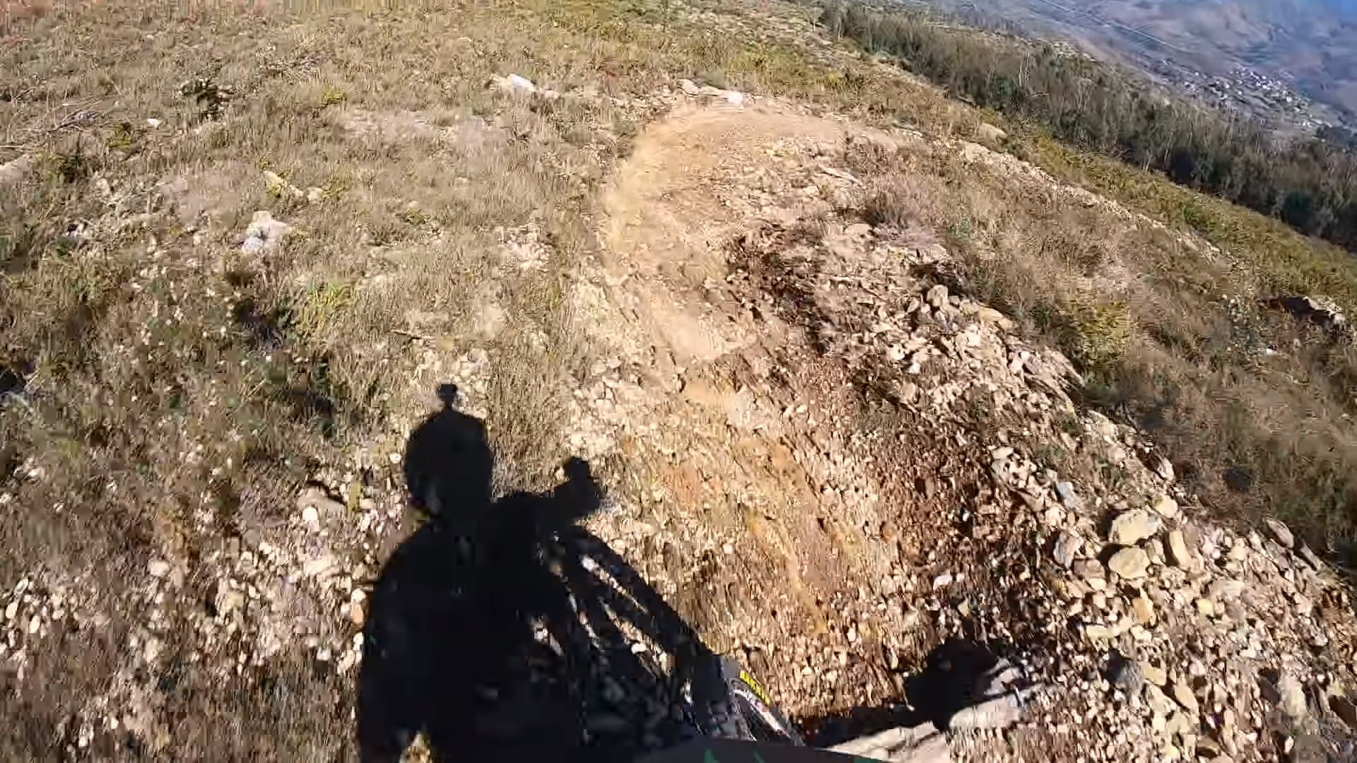 Danny Hart Chases His Shadow in Portugal
