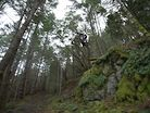 Jordie Lunn Shredding the YT DECOY in the Woods of Vancouver Island