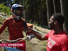Leogang Practice Action with Eliot Jackson | UCI DH MTB World Cup 2019