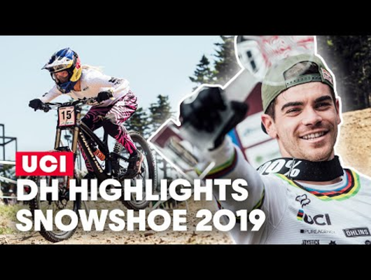 The Greatest Bike Race Ever Seen | UCI MTB World Cup Snowshoe 2019