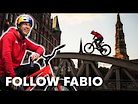 Chasing Fabio Wibmer with a Racing Drone through Germany