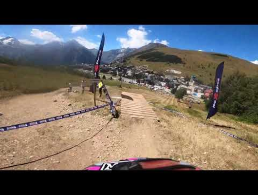 French Cup - Les 2 Alpes - GoPro Track Preview with Thibaut Daprela
