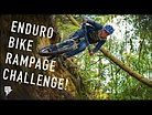 ENDURO BIKE RAMPAGE CHALLENGE, WINNER TAKES ALL!! SENDS AND DROPS WITH THEO!