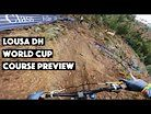 Lousa DH World Cup Course Preview with Tracey Hannah