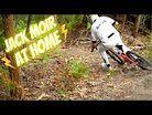 Jack Moir Ripping His Enduro Bike at Home