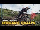 Here's What Went Down in Leogang DH Qualifications | UCI MTB World Cup 2021
